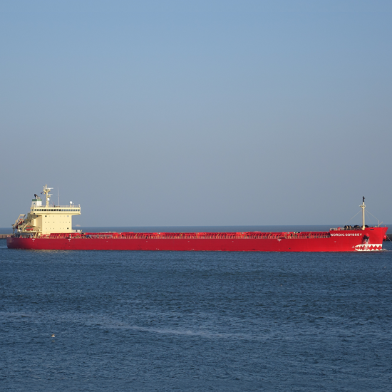 Nordic Odyssey 75,603DWT Panamax (Ice Class 1A) Built 2010 Oshima Shipbuilding