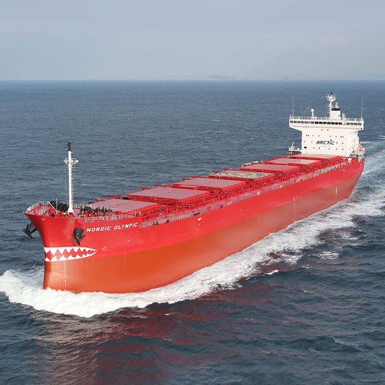 Nordic Olympic 76,180DWT Panamax (Ice Class 1A) Built 2015 Oshima Shipbuilding