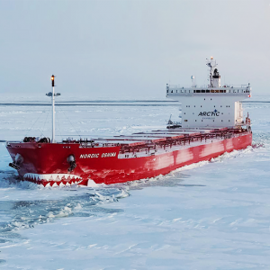 Nordic Oshima 76,180 Panamax (Ice Class 1A) Built 2014 Oshima Shipbuilding