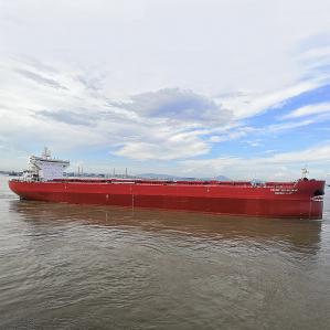 Nordic Nuluujaak 95,758 DWT • Post-Panamax (Ice Class 1A) Built 2021 Guangzhou Shipyard International
