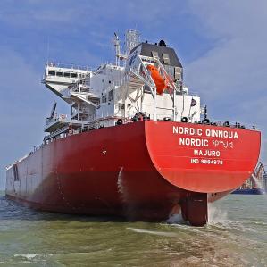 Nordic Qinngua 95,758 DWT • Post Panamax (Ice Class 1A) Built 2021 Guangzhou Shipyard International